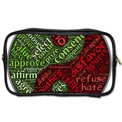 Tao Duality Binary Opposites Toiletries Bags 2-Side