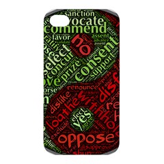 Tao Duality Binary Opposites Apple iPhone 4/4S Hardshell Case