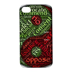 Tao Duality Binary Opposites Apple iPhone 4/4S Hardshell Case with Stand