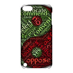 Tao Duality Binary Opposites Apple iPod Touch 5 Hardshell Case with Stand