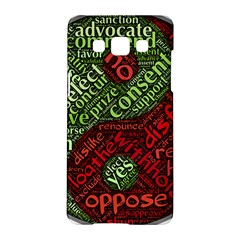 Tao Duality Binary Opposites Samsung Galaxy A5 Hardshell Case