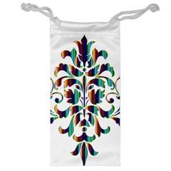 Damask Decorative Ornamental Jewelry Bag