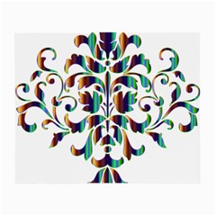 Damask Decorative Ornamental Small Glasses Cloth (2-Side)