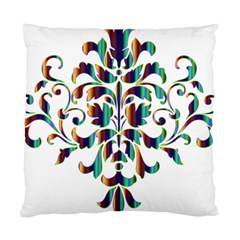 Damask Decorative Ornamental Standard Cushion Case (Two Sides)