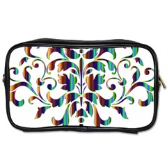 Damask Decorative Ornamental Toiletries Bags 2-Side