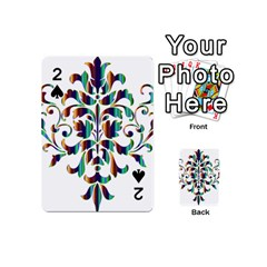 Damask Decorative Ornamental Playing Cards 54 (Mini)