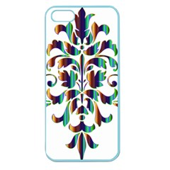 Damask Decorative Ornamental Apple Seamless iPhone 5 Case (Color)