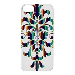 Damask Decorative Ornamental Apple iPhone 5S/ SE Hardshell Case