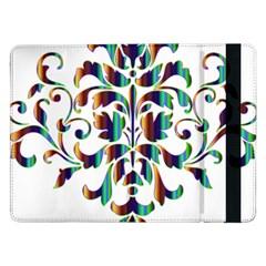 Damask Decorative Ornamental Samsung Galaxy Tab Pro 12.2  Flip Case