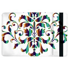 Damask Decorative Ornamental iPad Air 2 Flip