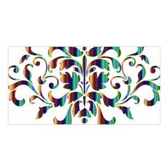Damask Decorative Ornamental Satin Shawl