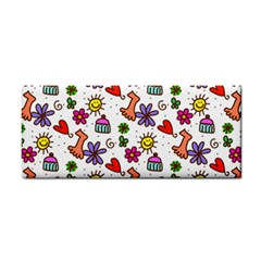 Doodle Pattern Cosmetic Storage Cases