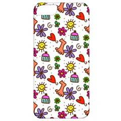 Doodle Pattern Apple iPhone 5 Classic Hardshell Case