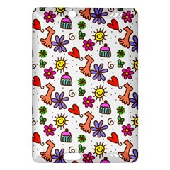 Doodle Pattern Amazon Kindle Fire HD (2013) Hardshell Case