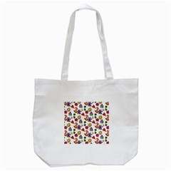 Doodle Pattern Tote Bag (white)
