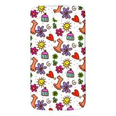 Doodle Pattern Samsung Galaxy Mega I9200 Hardshell Back Case