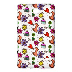 Doodle Pattern Samsung Galaxy Tab 4 (8 ) Hardshell Case
