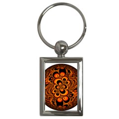Fractals Ball About Abstract Key Chains (Rectangle)