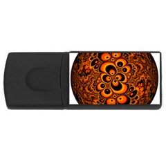Fractals Ball About Abstract USB Flash Drive Rectangular (2 GB)