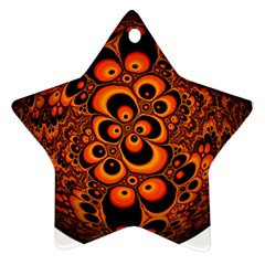 Fractals Ball About Abstract Star Ornament (Two Sides)