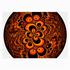 Fractals Ball About Abstract Large Glasses Cloth