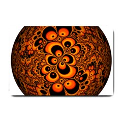 Fractals Ball About Abstract Small Doormat