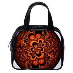 Fractals Ball About Abstract Classic Handbags (One Side)