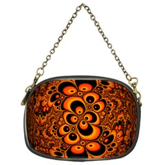 Fractals Ball About Abstract Chain Purses (Two Sides)