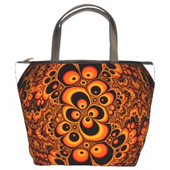 Fractals Ball About Abstract Bucket Bags