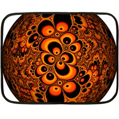 Fractals Ball About Abstract Fleece Blanket (mini)