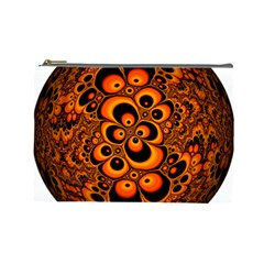 Fractals Ball About Abstract Cosmetic Bag (Large)