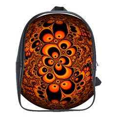Fractals Ball About Abstract School Bags(Large)