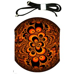 Fractals Ball About Abstract Shoulder Sling Bags