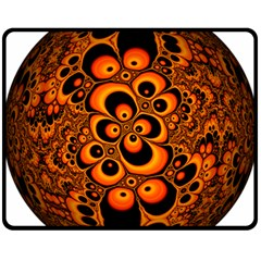 Fractals Ball About Abstract Fleece Blanket (Medium)
