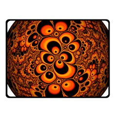 Fractals Ball About Abstract Fleece Blanket (Small)