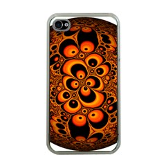 Fractals Ball About Abstract Apple Iphone 4 Case (clear)