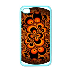 Fractals Ball About Abstract Apple iPhone 4 Case (Color)