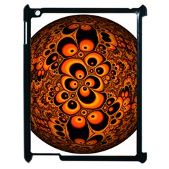 Fractals Ball About Abstract Apple iPad 2 Case (Black)