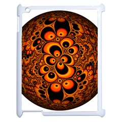 Fractals Ball About Abstract Apple iPad 2 Case (White)