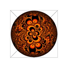 Fractals Ball About Abstract Acrylic Tangram Puzzle (4  X 4 )