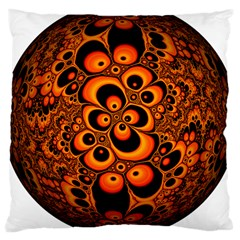 Fractals Ball About Abstract Large Cushion Case (Two Sides)