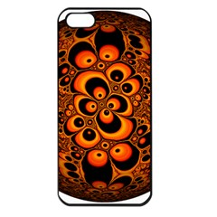 Fractals Ball About Abstract Apple iPhone 5 Seamless Case (Black)