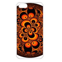 Fractals Ball About Abstract Apple iPhone 5 Seamless Case (White)