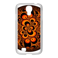 Fractals Ball About Abstract Samsung GALAXY S4 I9500/ I9505 Case (White)