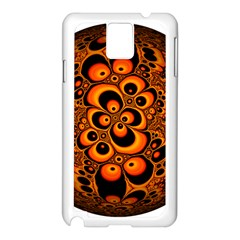 Fractals Ball About Abstract Samsung Galaxy Note 3 N9005 Case (White)