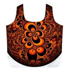 Fractals Ball About Abstract Full Print Recycle Bags (L)
