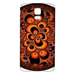 Fractals Ball About Abstract Samsung Galaxy S5 Back Case (White)