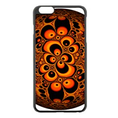 Fractals Ball About Abstract Apple iPhone 6 Plus/6S Plus Black Enamel Case