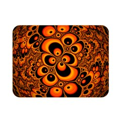 Fractals Ball About Abstract Double Sided Flano Blanket (Mini)