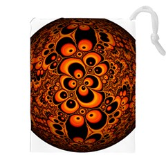 Fractals Ball About Abstract Drawstring Pouches (XXL)